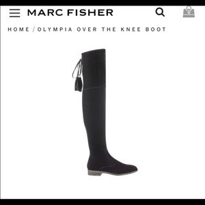 Marc Fisher over knee boots size 8